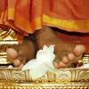 Swamiji's feet